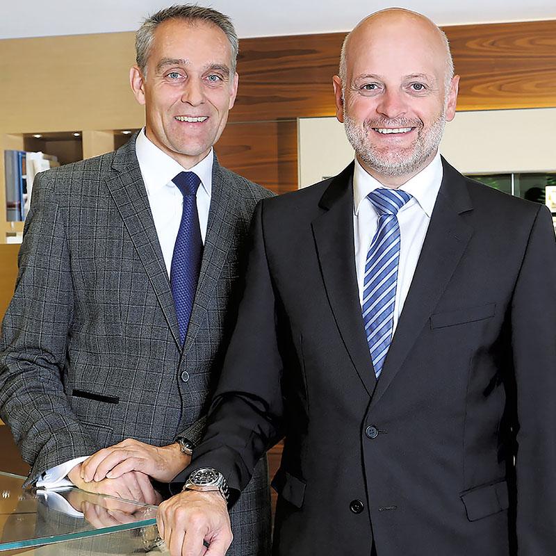 Roger Schweizer und Roger Jacquat