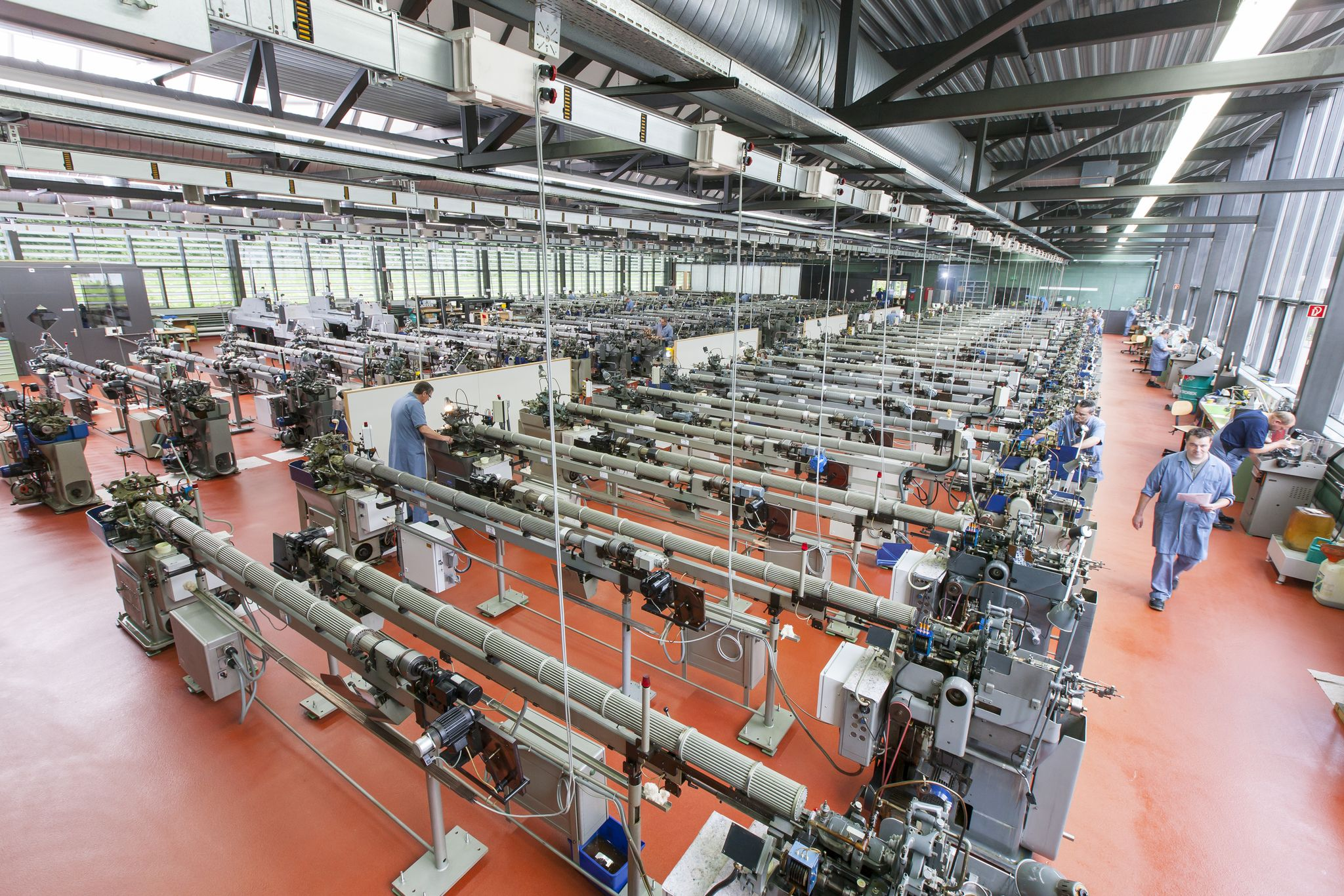 Ronda Uhrewerkproduktion in Lausen