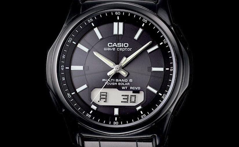 Neue Funk-Solaruhr von CASIO