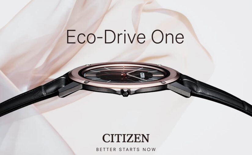 Citizen Eco-Drive One – Die flachste Solaruhr der Welt