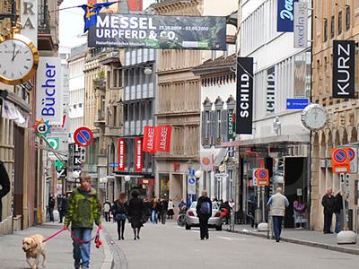 Uhren Geschäfte in Basel