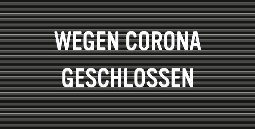 Alle Geschäfte wegen Coronavirus geschlossen
