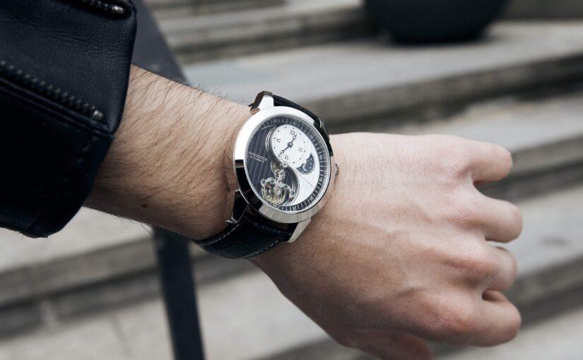 Yin Yang Uhren: Eine dynamische Harmonie
